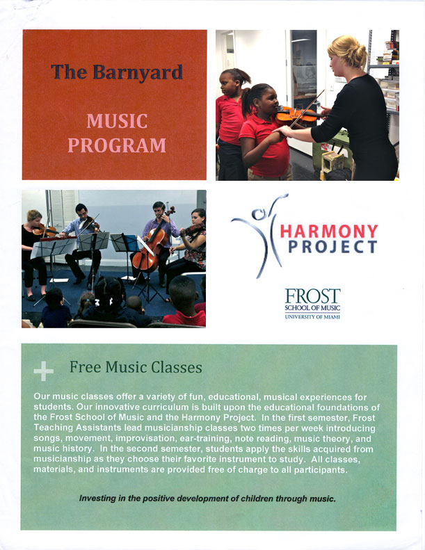 The Barnyard Music-Classes